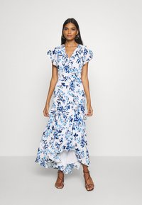 Banana Republic - VNECK HI LOW - Robe longue - blue - 1