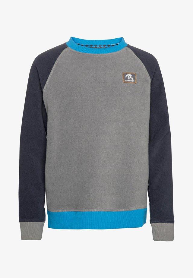 ADAMS - Fleece jumper - earl grey