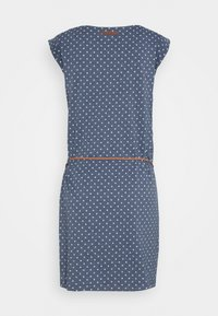 Ragwear - TAG DOTS - Žerzejové šaty - denim blue - 1