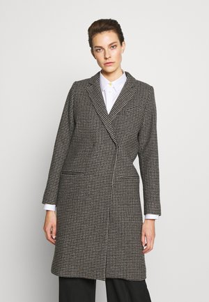 CATELYN - Classic coat - houndstooth brown