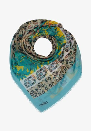 FOULARD ANIMALIER FLOW NILE - Foulard - light blue