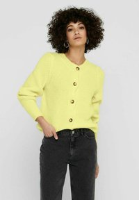 ONLY - Cardigan - pastel yellow - 0