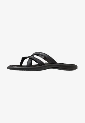 KAMBI II - Walking sandals - black/grey steel