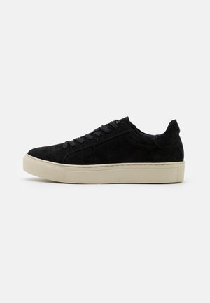 SLFDONNA NEW CROCO TRAINER - Sneakers laag - black
