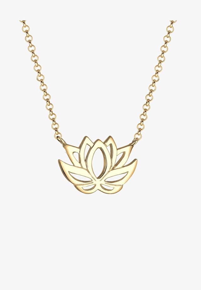 LOTUS FLOWER - Ketting - gold-coloured