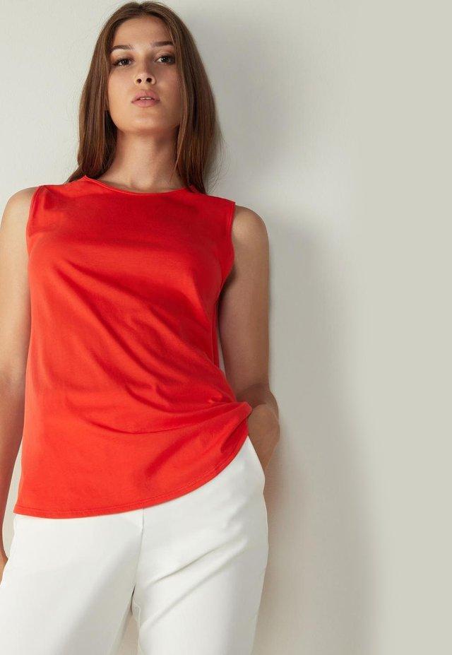 ULTRAFRESH - Top - rot - i - red orange