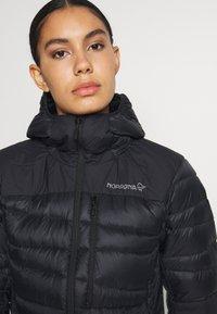 Norrøna - FALKETIND HOOD - Down jacket - black - 3