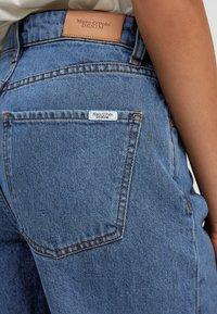 Marc O'Polo DENIM - TOMMA - Straight leg jeans - multi/dark blue salt 'n pepper - 4