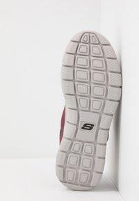 Skechers Sport - TRACK - Sneakers basse - burgundy/black - 4
