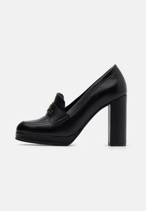 POLISHED - High heels - black