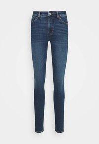 Monki - MOCKI NEW  - Jeansy Skinny Fit - blue/medium-dusty - 3
