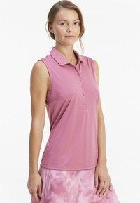 Puma Golf - ROTATION SLEEVELESS - Sports shirt - rose wine - 0