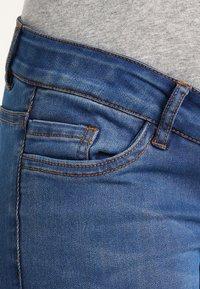 MAMALICIOUS - Vaqueros slim fit - medium blue denim - 3