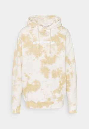 UNISEX CLASSIC HOODY - Collegepaita - camel tie dye