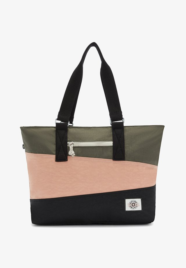 Tote bag - valley pink bl