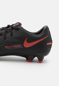 Nike Performance - PHANTOM GT ACADEMY FG/MG - Moulded stud football boots - black/chile red/dark smoke grey - 5