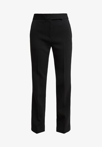 TOPSTITCH SEAMLINE STRUCTURED  PANT