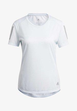 OWN THE RUN T-SHIRT - T-shirt print - blue