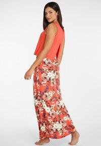 s.Oliver - Maxi dress - koralle-bedruckt - 2