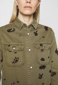 Desigual - Button-down blouse - green - 3