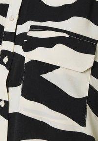VILA PETITE - VIOMINA - Button-down blouse - black - 5