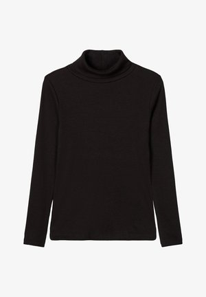 SLIM FIT RIPPDESIGN - Sweatshirts - black
