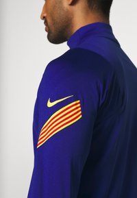 Nike Performance - FC BARCELONA DRY SUIT  - Equipación de clubes - deep royal blue/amarillo - 9