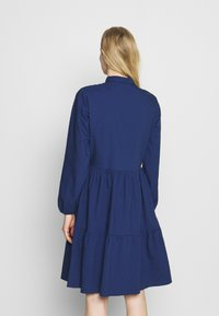 Marc O'Polo DENIM - DRESS BUTTON PLACKET - Shirt dress - scandinavian blue - 2