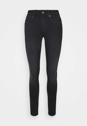 3301 MID SKINNY - Skinny džíny - dusty grey
