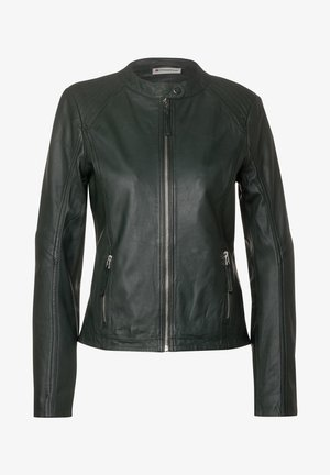 ROCKIGE - Leather jacket - grün