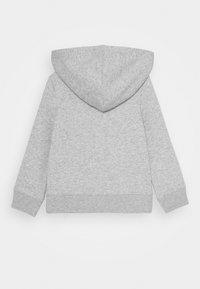 GAP - TODDLER GIRL LOGO - Mikina na zip - heather grey - 1