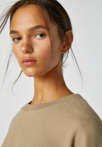 PULL&BEAR - Sweatshirts - mottled light brown - 3
