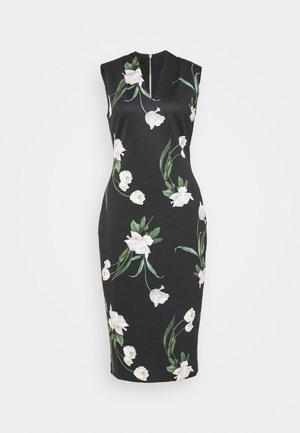 POLLIEE - Jersey dress - black