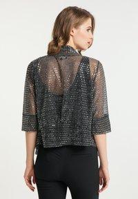 faina - Summer jacket - schwarz silber - 2