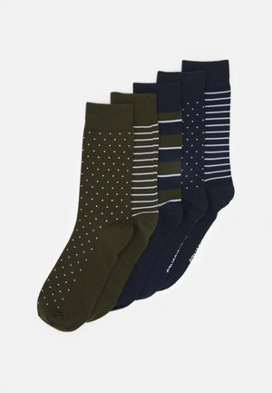 JACPORTER SOCKS 5 PACK - Socks - forest night/navy blazer