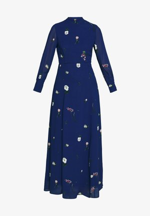 PRINTED DRESS - Maxikjole - indigo