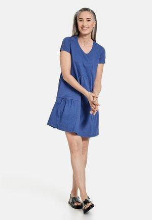 Jersey dress - lapislazuli