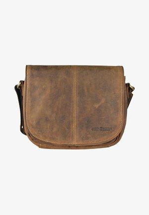 Across body bag - brown
