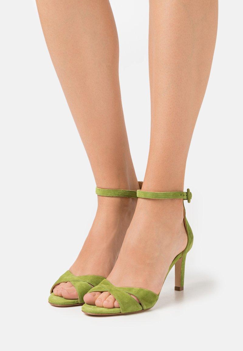 Billi Bi - Sandals - yaca green
