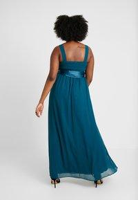 Dorothy Perkins Curve - NATALIE MAXI - Společenské šaty - dark green - 2