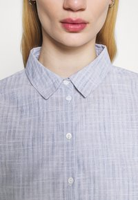 ONLY - ONLLORRY LIFE STRIPE - Button-down blouse - white - 4