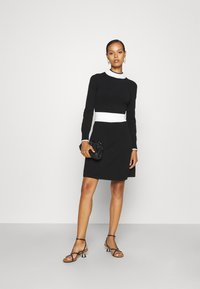 HUGO - SUMERY - Obleka/pulover - black - 1