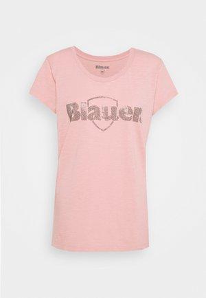 SWAROWSKI LOGO - T-shirts med print - light pink