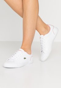Lacoste - LEROND  - Trainers - wihte/light pink - 0