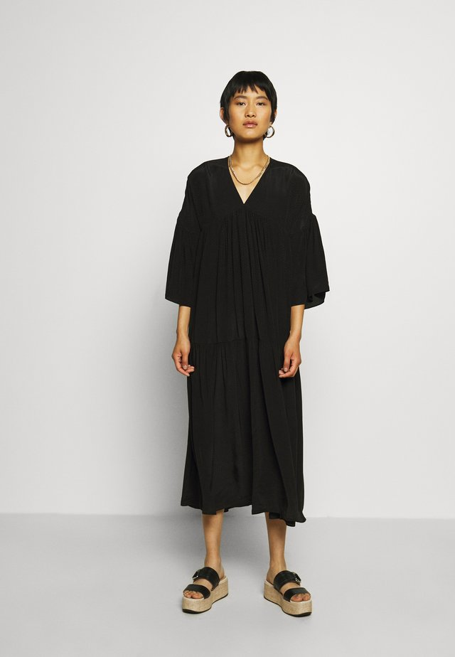 EMANUELLE DRESS - Robe d'été - black beauty
