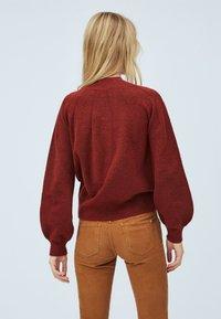 Pepe Jeans - CLOTILDA - Svetr - tibetan red - 2