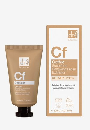 COFFEE SUPERFOOD RENEWING FACIAL EXFOLIATOR - Ansiktsskrubb - -