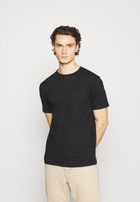 Denim Project - 10 PACK  - T-shirt basique - black/white/light grey melange - 4