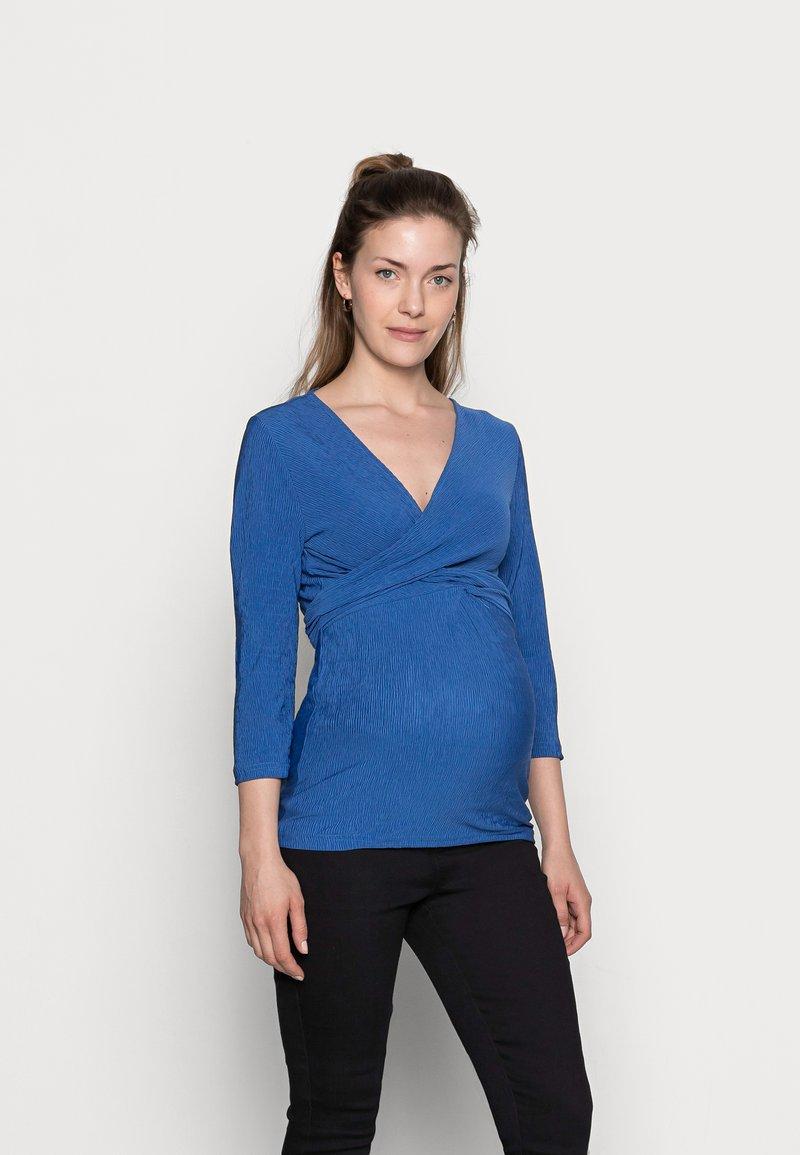 MAMALICIOUS - NURSING - Bluzka z długim rękawem - bright cobalt