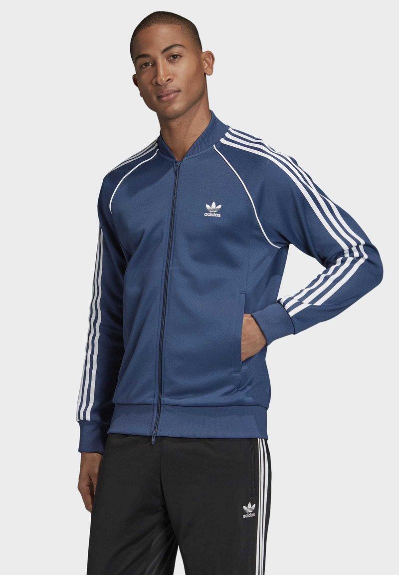 adidas Originals - SST TRACK TOP - Bomberjacke - blue
